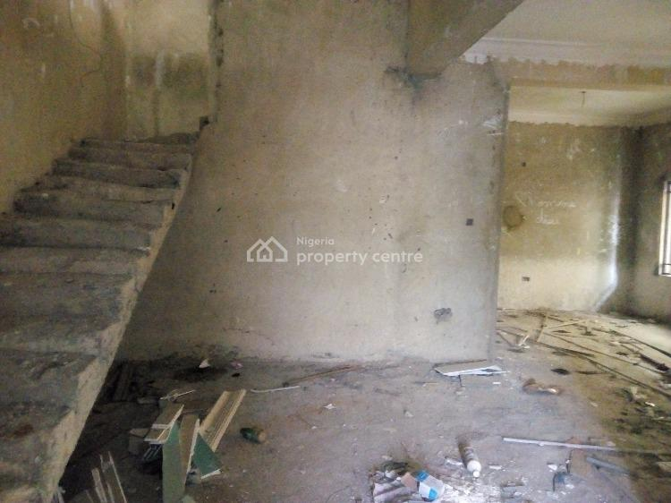 4 Bedroom Semi Detached Duplex with Bq,  (carcass), Lekki Garden Phase 3, By Lagos Business School, Olokonla, Ajah, Lagos, Semi-detached Duplex for Sale
