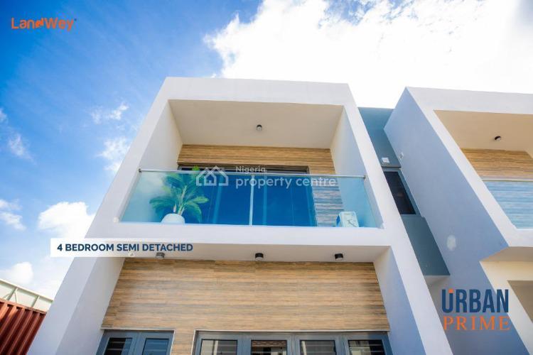 Luxury 4 Bedroom Semi-detached Duplex with Flexible Payment Plan., Off Abraham Adesanya Estate, Ogombo, Ajah, Lagos, Semi-detached Duplex for Sale