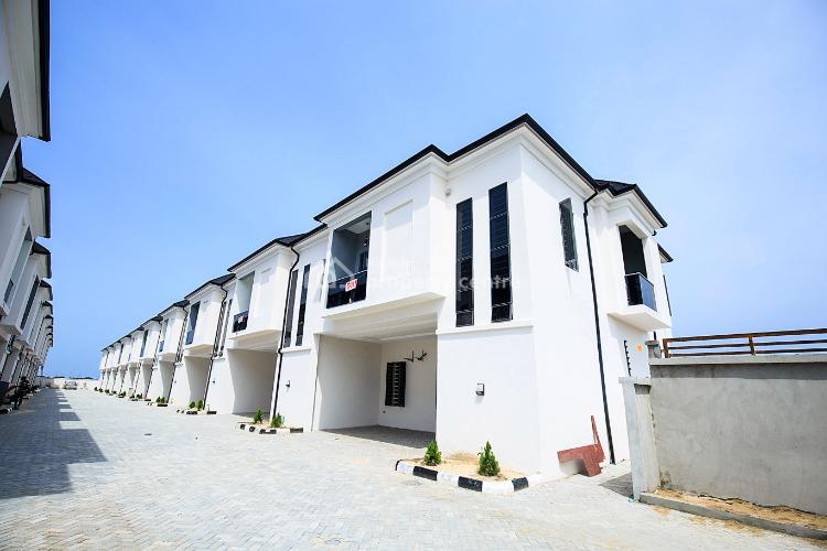 4 Bedroom Terraced Duplex, Chevron, Lekki Expressway, Lekki, Lagos, Terraced Duplex for Sale