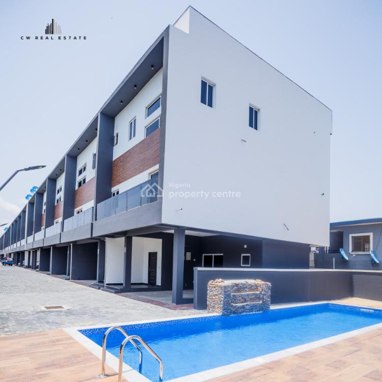 Newly Built 4 Bedroom Terraced Duplex, Ikate Elegushi, Lekki, Lagos, Terraced Duplex for Sale
