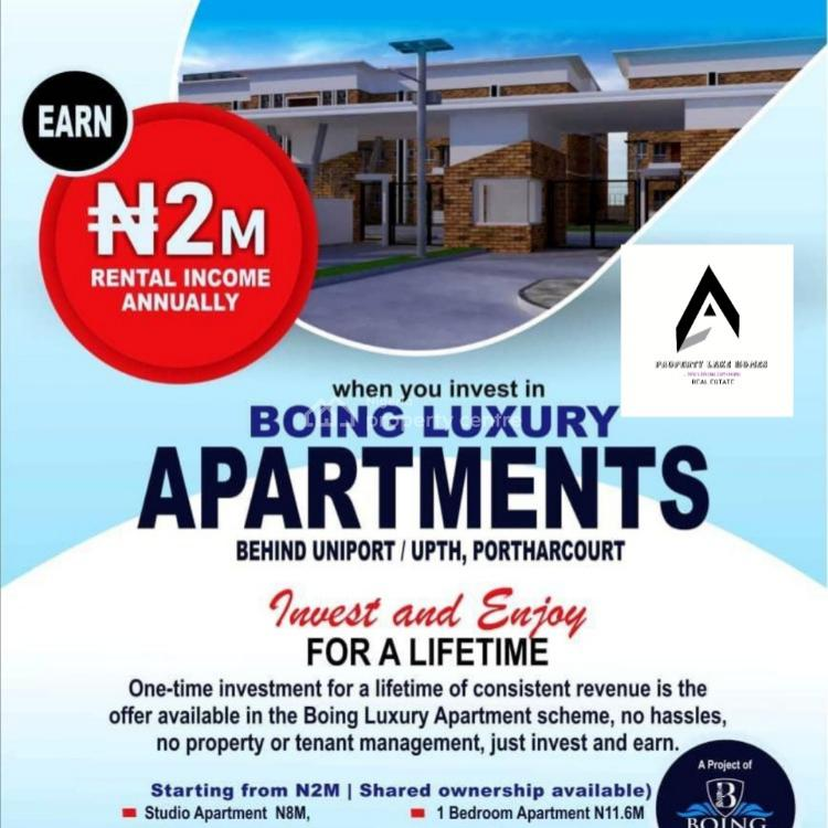 Beautiful Newly Built 1 Bedroom Estate Appartment, Behind Uniport, Upth, Port Harcourt, Rivers, Block of Flats for Sale