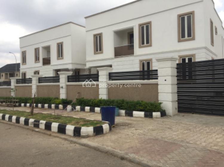 Diplomatic 4 Bedrooms Semi Detached(twin) Duplexes + 2 Bedroom Bq Each, Katampe Extension, Katampe, Abuja, House for Sale