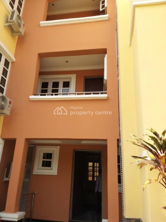 Brand New Luxury 4 Bedroom Serviced Terrace Duplex Plus Bq, Off Ademola Adetokunbo Crescent, Wuse 2, Abuja, Terraced Duplex for Rent