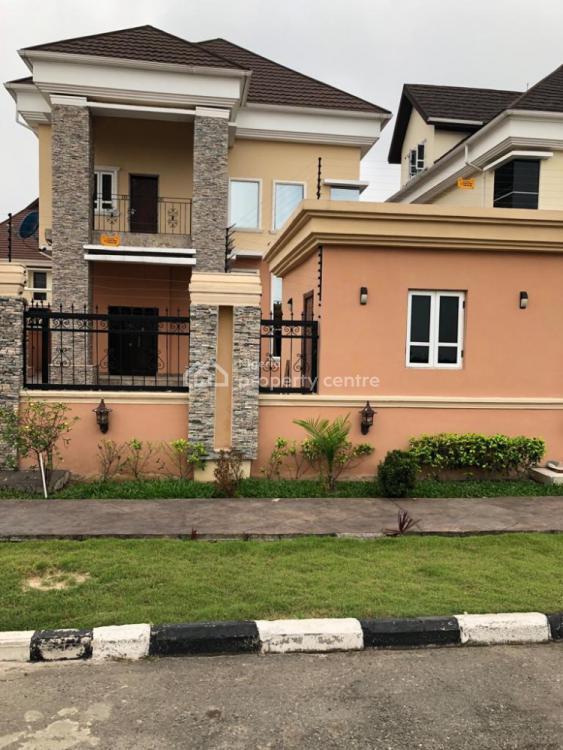 Tastefully Finished 5 Bedroom Detached Duplex with an Inbuilt B/q, Pinnock Beach Estate, Osapa, Lekki, Lagos, Detached Duplex for Rent
