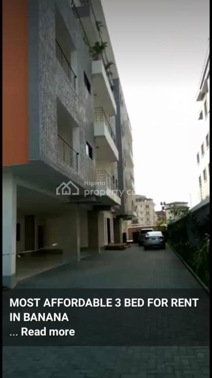 a Tastefully Finished 3 Bedroom Terraced Duplex, Banana Island, Ikoyi, Lagos, Terraced Duplex for Rent