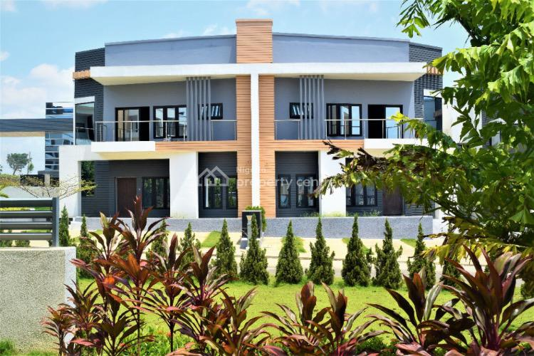 Exquisite 4 Bedrooms Semi-detached Duplex in a Serene Estate, 4 Minutes Drive to City Gate, Galadimawa, Abuja, Semi-detached Duplex for Sale