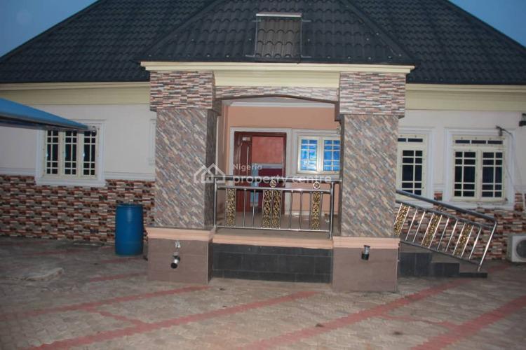 Luxury 2 Bedroom Bungalow with 2 Bedroom Bq, Okwe, Asaba, Delta, Detached Bungalow for Sale