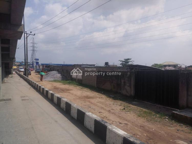 2 Plots of Land Directly on The Express with C of O, Ogolonto Brt Bus Stop, Ikorodu, Lagos, Mixed-use Land for Sale