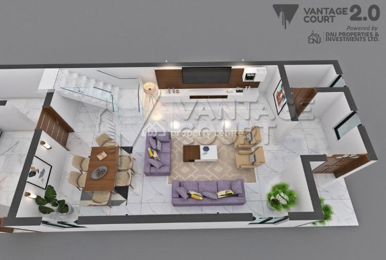 Luxurious 3 Bedroom Semi Detached Duplex with Bq, Bogije, Ibeju Lekki, Lagos, Semi-detached Duplex for Sale
