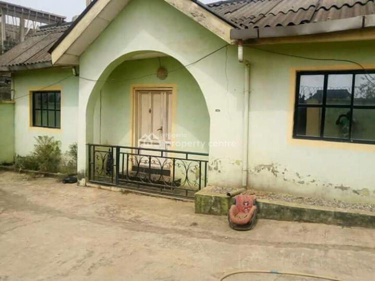 a Mini Flat + Room Self Contained., Obawole, Ogba, Ikeja, Lagos, Detached Bungalow for Sale