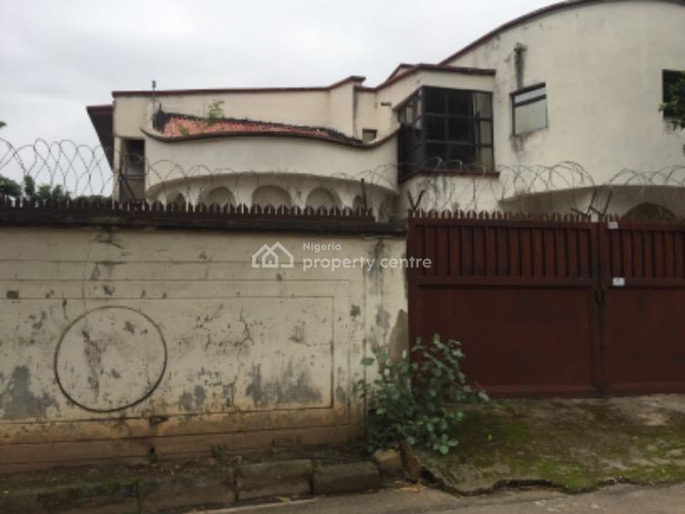 an Old 5 Bedroom Detached Duplex, Sitting on 950 Sqm, C of O, Maitama District, Abuja, House for Sale