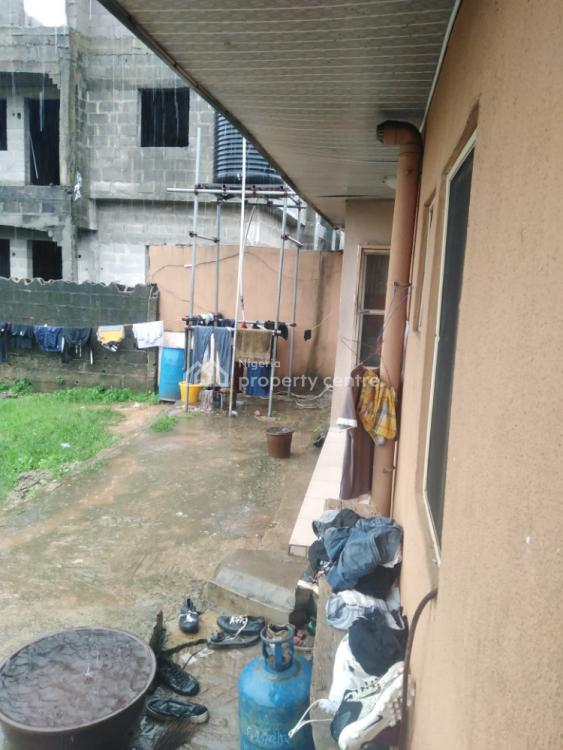 Well Built 2 Bedroom and Mini Flat on 1 & Half Plot, Off Ijegun-jakande New Road, Oke Afa, Isolo, Lagos, Detached Bungalow for Sale