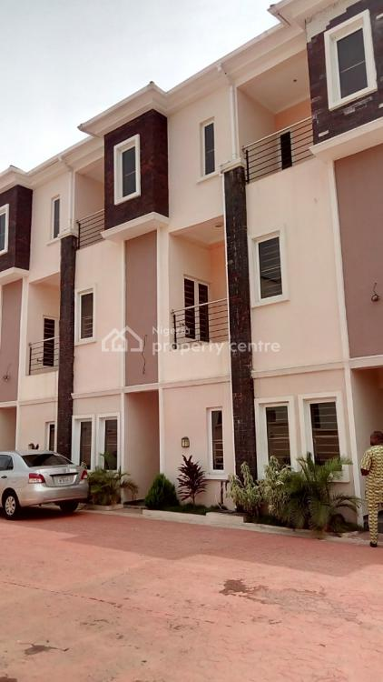 Brand New 9 Units of 4 Bedroom Terrace Duplex with a Room Bq Each, David Jemibewon Crescent, Apo, Abuja, Terraced Duplex for Sale