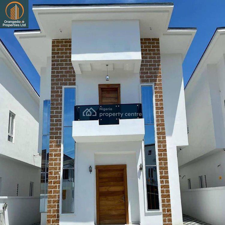 Beautiful 5 Bedroom Detached House, Osapa London, Osapa, Lekki, Lagos, Detached Duplex for Sale