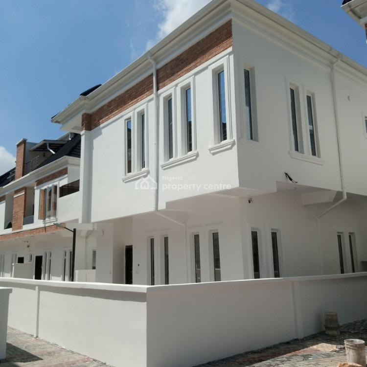 New 4 Bedroom Duplex with Bq in Beautiful Estate, Orchid Road, Lekki Phase 2, Lekki, Lagos, House for Rent
