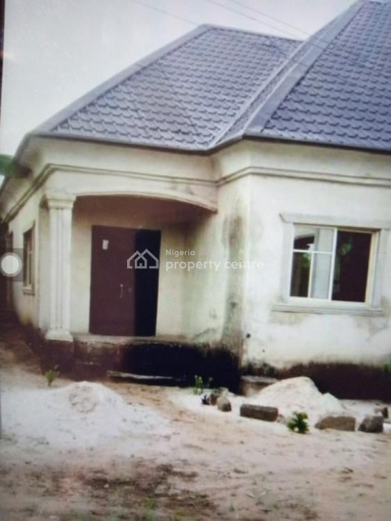 3 Bedroom Flat and One Bedroom Flat, Uyeh Estate By Timber Market Road, Off Oron Road, Uyo, Akwa Ibom, Detached Bungalow for Sale