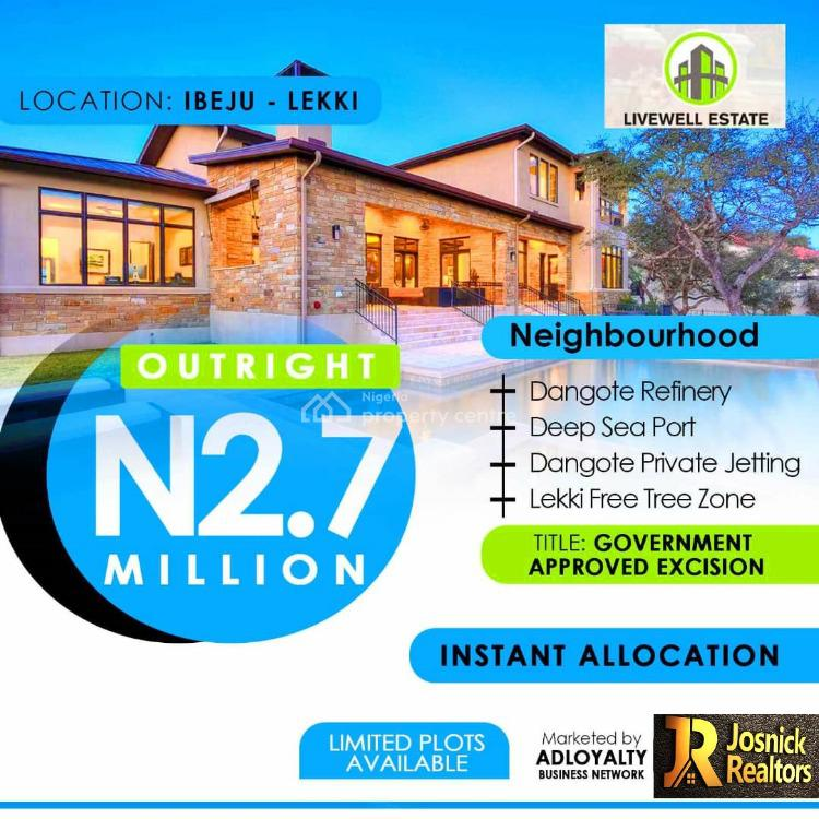 Prime Plots of Land with Good Title, Ogogoro, Ibeju Lekki, Lagos, Residential Land for Sale