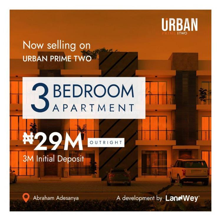 Luxury 3 Bedroom Apartment in a Calm Environment, Abraham Adesanya, Lekki, Lagos, House for Sale