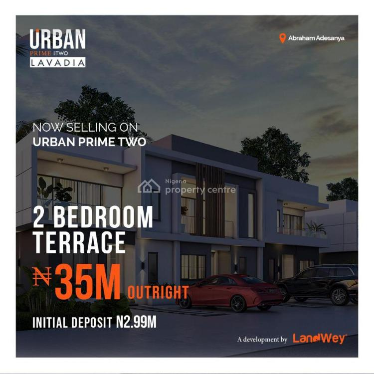 Modern 2 Bedroom Terrace with a Touch of Class, Abraham Adesanya, Lekki, Lagos, Terraced Duplex for Sale