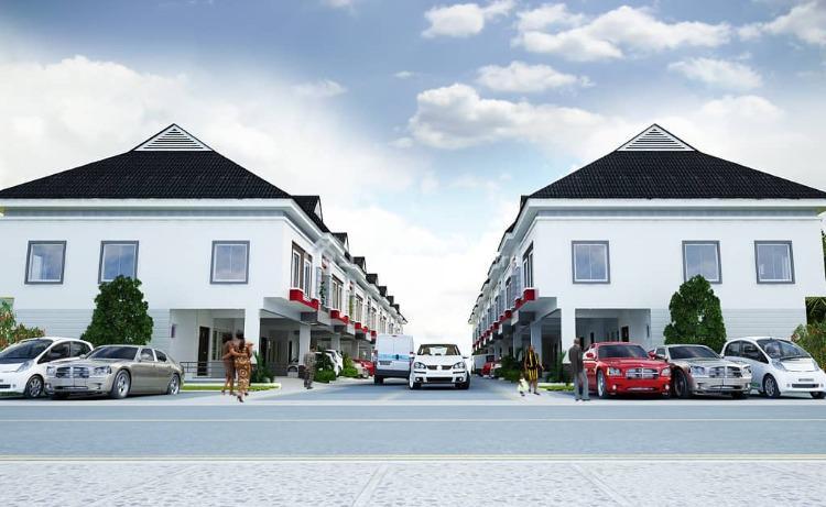 Off Plan 3 Bedroom Terraced Duplex, Orchid Road, After Chevron Toll Gate, Lekki, Lagos, Terraced Duplex for Sale