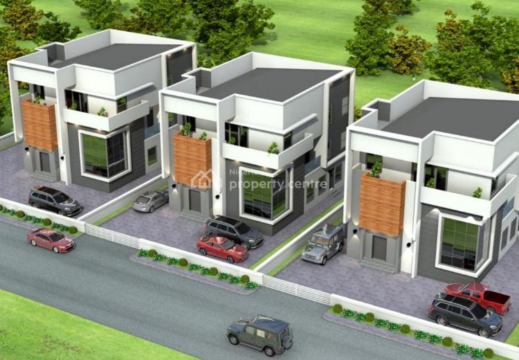 5 Bedroom Fully Detached Luxury Terraced Duplex with Servant Quarters, Plot 844, Behind Kingscourt Estate, Jabi Airport Road, Dakibiyu, Abuja, Detached Duplex for Sale