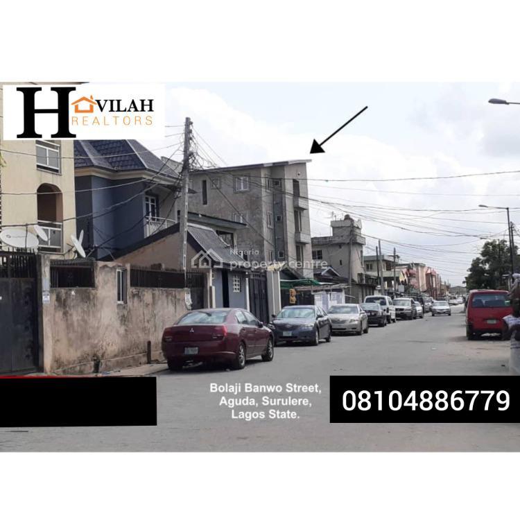 1 Bedroom Apartment, 34, Bolaji Banwo Street, Aguda, Surulere, Lagos, Mini Flat for Sale