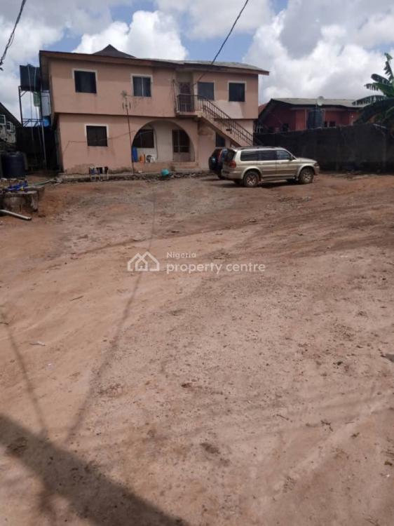 Block of 4 Units 2 Bedrooms Flat Set Back on a Plot, Off Bucknor, Ikotun, Oke Afa, Isolo, Lagos, Block of Flats for Sale