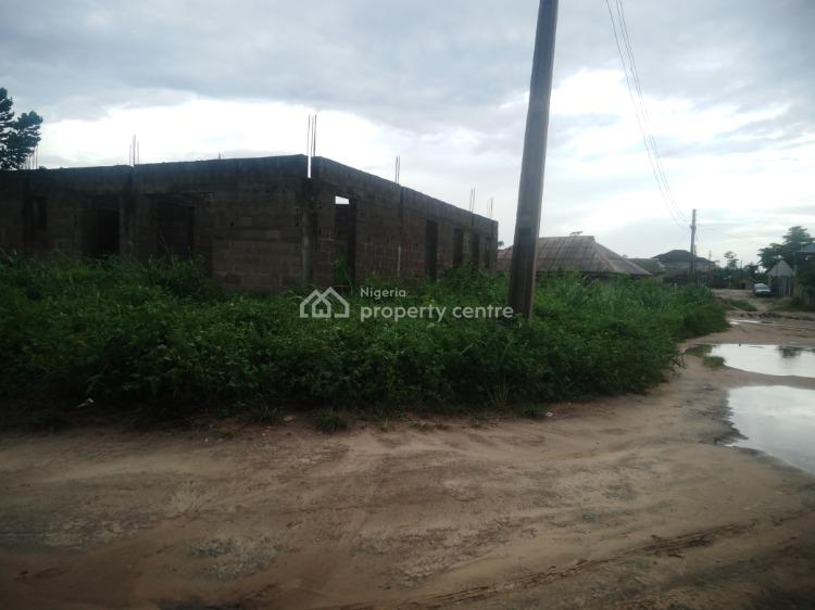 Full Plot of Land Corner Piece with Uncompleted 3 Bedroom Flat, Agbowa, Ibeshe, Ikorodu, Lagos, Mixed-use Land for Sale
