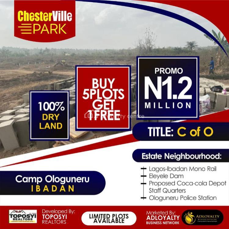 Land, Chester Ville Park Estate, Camp Ologuneru, Ibadan, Oyo, Residential Land for Sale