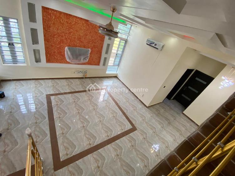 Newly Built Switchless Smart 5 Bedroom Fully Detached with a Bq, Smart Home, 2nd Toll Gate, Jakande, Lekki, Lagos, Semi-detached Duplex for Sale