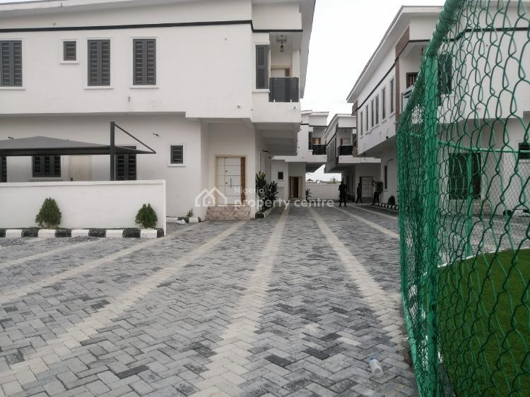 Four Bedroom Semi Detached House with Bq, Southern View Estate By Chevron Lekki Conservation, Lekki Phase 1, Lekki, Lagos, Semi-detached Duplex for Sale