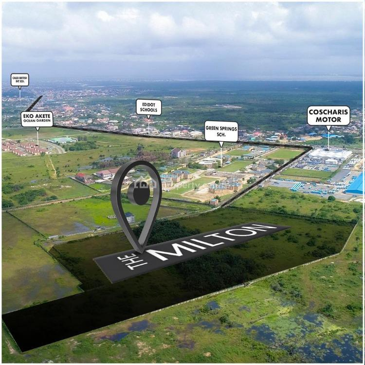 Land, The Milton, Awoyaya, Ajah, Lagos, Residential Land for Sale