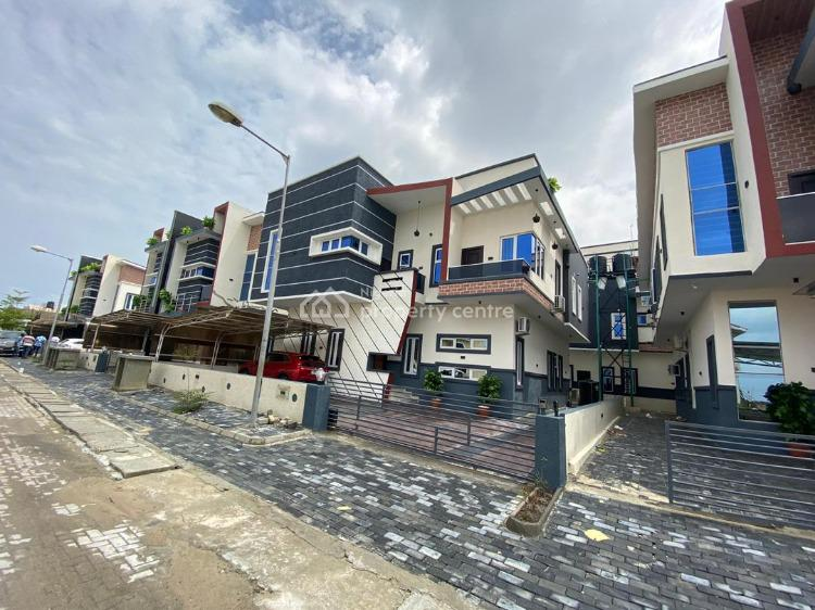 a Newly Built Switchless Smart 4 Bedroom Semi Detached with a Bq, 2nd Toll Gate By Orchid Hotel Road, Ikota, Lekki, Lagos, Semi-detached Duplex for Sale