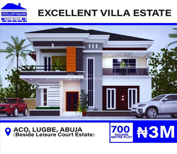 5 Bedroom Duplex Plots, Beside Leisure Court Estate By Aco Sabon., Sabon Lugbe, Lugbe District, Abuja, Residential Land for Sale