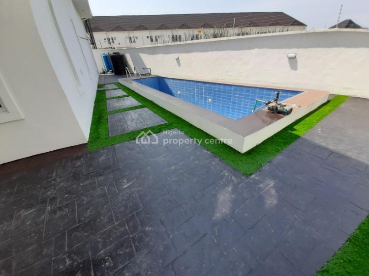 5 Bedroom En-suite Fully Detached Duplex with a Bq & Swimming Pool, Lekki, Lagos, Detached Duplex for Rent