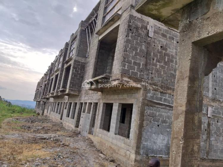 Uncompleted 28 Units 4 Bedroom Terraces on 7500sqm Land, Beside Cosgrove Estate, Katampe (main), Katampe, Abuja, Terraced Duplex for Sale
