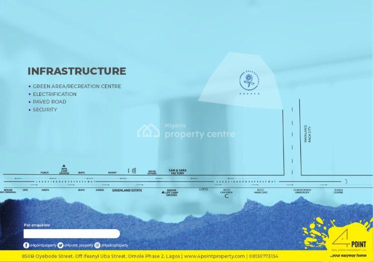 Plot of Land in a Residential Estate with a Global C of O, Rose Gardens Phase 3, Mowe Town, Ogun, Residential Land for Sale