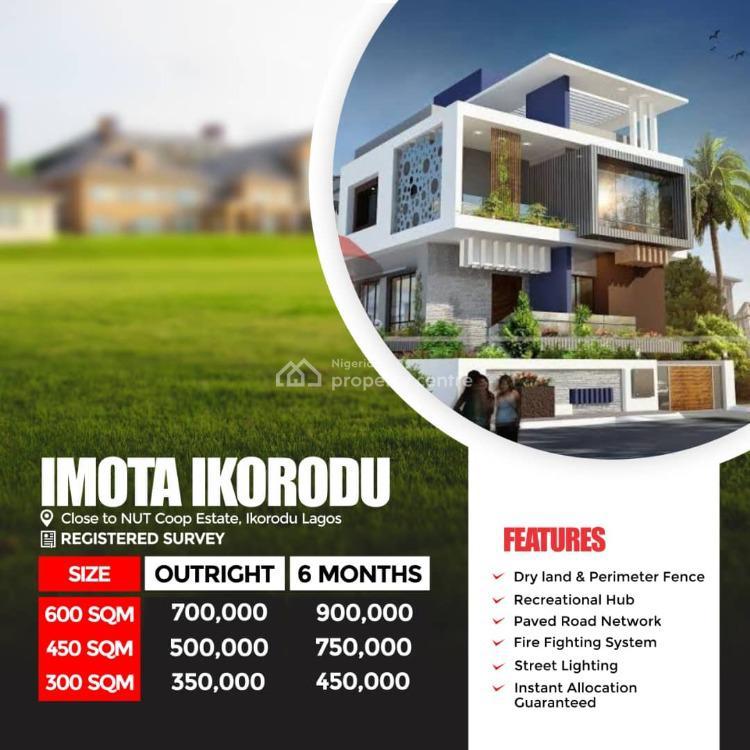 Land, Agbowa, Ikorodu, Lagos, Residential Land for Sale