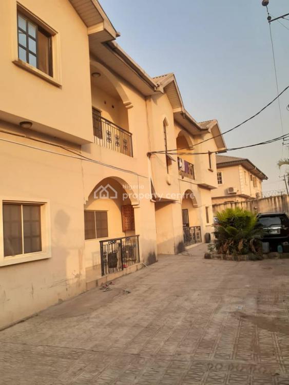 Block of 4 Flats of 3 Bedroom, Ogba, Ikeja, Lagos, Block of Flats for Sale