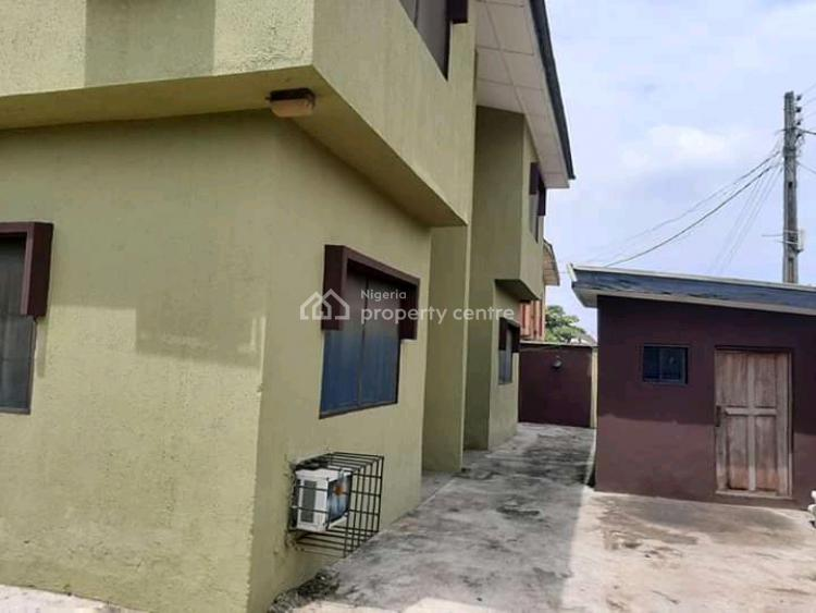 Executive Block of 4 Unit of 3 Bedroom with Penthouse on 670sqm. C of O, Okota, Ago Palace, Isolo, Lagos, Block of Flats for Sale