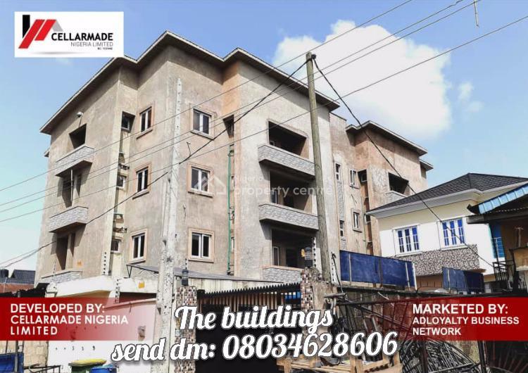1 Bedroom Flat with Bq, Bolaji Banwo Street., Aguda, Surulere, Lagos, Block of Flats for Sale