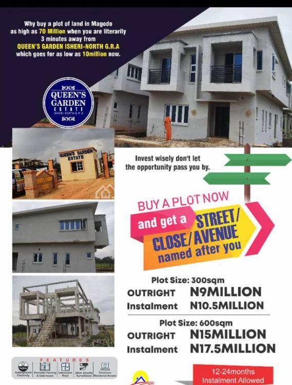 Queens Garden Estate, Ibadan Expressway, Opic, Isheri North, Ogun, Residential Land for Sale