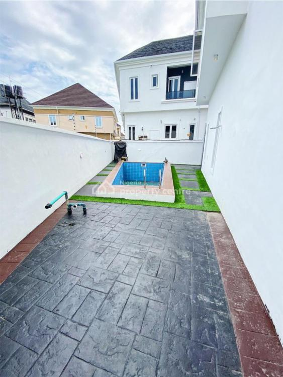Newly Built Luxury & Spacious 5 Bedroom Fully Finished and Fully Service, Ikota Villa, Behind Mega Chicken , After 2nd Toll Gate Chevron, Ikota, Lekki, Lagos, Detached Duplex for Rent
