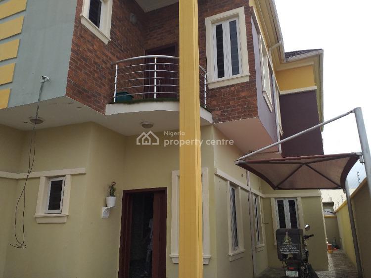 Magnificent Spacious 4 Bedroom Duplex with Bq Private Compound, Ocean Breeze Estate, Ologolo, Lekki, Lagos, Semi-detached Duplex for Rent