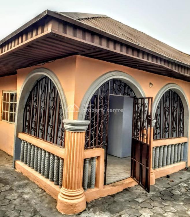 Standard  Secured 4 Bedroom Bungalow on 1 Plot, Akar Road  Off Iwofe Road, Ada George, Obio-akpor, Rivers, House for Sale