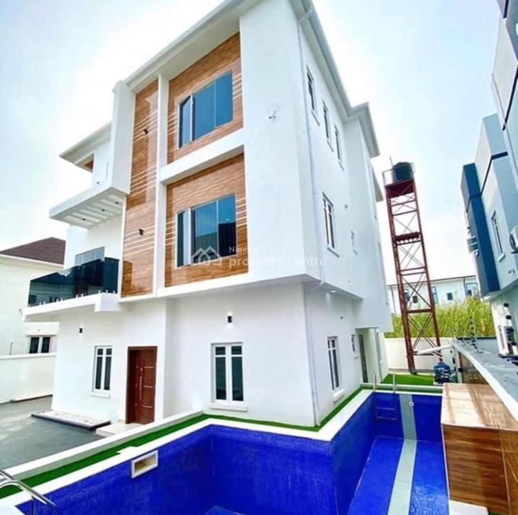 Maisionette 5 Bedroom Fully Detached Duplex  on 3 Floors with Pool, Ado, Ajah, Lagos, Detached Duplex for Sale