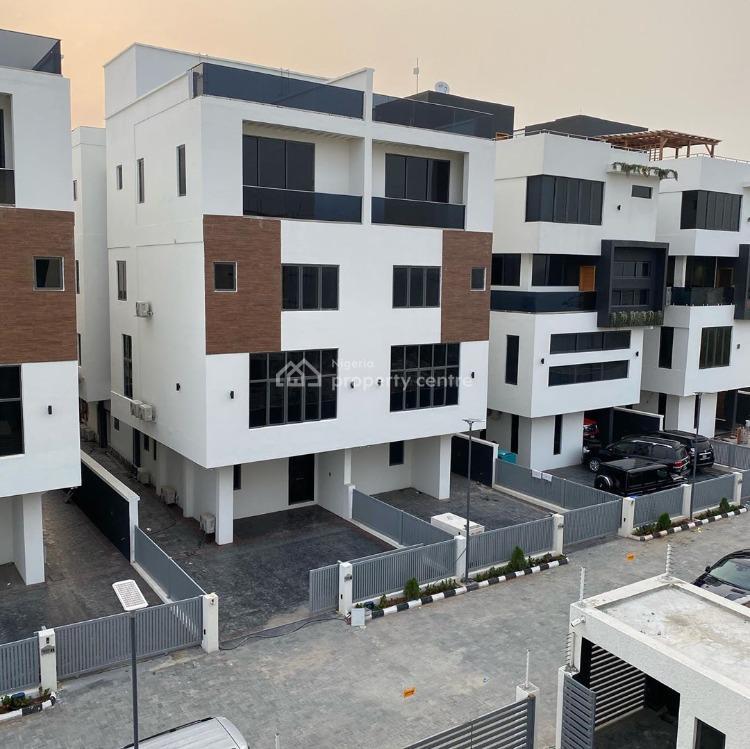 Luxury 5 Bedroom Waterfront Semi Detached Duplex with a Pool, Banana Island, Ikoyi, Lagos, Semi-detached Duplex for Sale