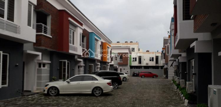 a New & Beautifully Finished 4 Bedroom Terrace + Bq, Genesis Colony Opposite Abraham Adesanya Estate, Ajah, Lagos, Terraced Duplex for Rent