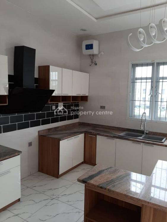 Service 4 Bedrooms Terrace Duplex with a Bq, By Conoil Fuel Station, Ikate Elegushi, Lekki, Lagos, House for Rent