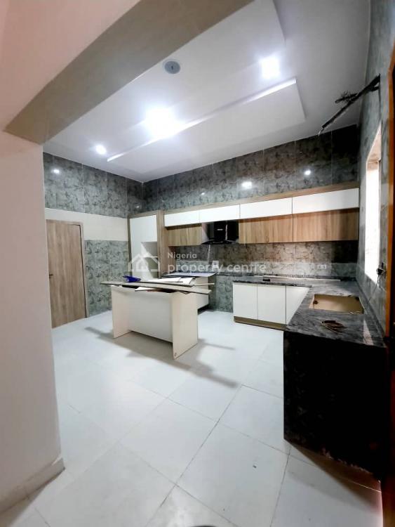 5 Bedroom White Luxury Detached Duplex with a Bq, Osapa, Lekki, Lagos, Detached Duplex for Sale